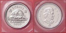 Proof Like 2010 Canada 5 Cents Sealed in Cello