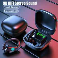 Bluetooth Headset 5.0 Tws Wireless Earphones Earbuds Headphones Stereo Ear Hook