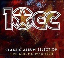 Classic Album Selection: Five Albums 1975-1978 [Box] by 10cc (CD, Nov-2012, 6 Discs, Universal)