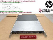 HP Storageworks 8/8 (8) Full Fabric Ports Enabled San Switch  -  AM867B