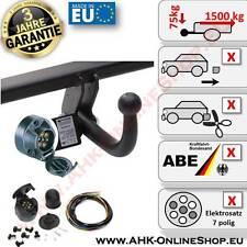 AHK + E-Satz 7 polig Opel Astra (G) Bj. 06.2000-02.2005 Coupe Anhängerkupplung
