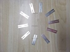 10Pcs Steel Strap Strip Sheets New For Battery Spot Welder H-Type Nickel Plat zh