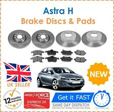 For Vauxhall Astra H 1.9 CDTI 150 BHP 308mm Front & Rear Brake Discs & Pads Set