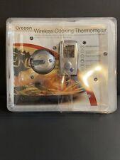 New listing Wireless Cooking Thermometer Oregon Scientific Lcd Screen Temperature Sensor