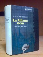 Giorgio Scerbanenco - LA MILANO NERA - 1979