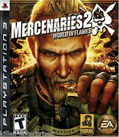 Mercenaries 2: World in Flames (Playstation 3) PS3