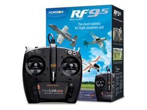 RealFlight 9.5 RC Flight Simulator with Spektrum InterLink DA Controller.RFL1200