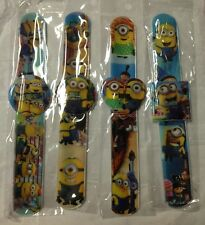 (12) Despicable ME 2 Minions Children Slap on Band Digital Watches Birthday Gift