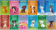 PET RESCUE ADVENTURES Children's Series by Holly Webb Paperback Set 1-12!