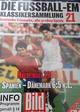 EM Fussball Klassikersammlung 21 Halbfinale 1984 Spanien vs Dänemark Orig DVD