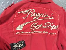 18706 Mens RAT ROD ~ Reggie's Chop Shop ~ Button Front SHIRT ~ L Large