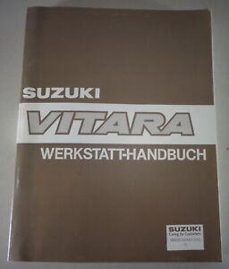 Manual de Taller / Guía de Reparación Suzuki Vitara SV416 Stand 03/1990