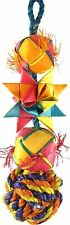 02047 Small Comet Bird Toy Cage Toys Cages Foraging Chew Shredder parrot