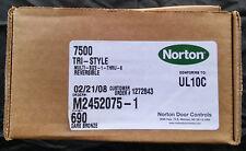 NIB NORTON DOOR CLOSER 7500 Tri-Style DARK BRONZE #690 Size 1-6 Conforms UL10C