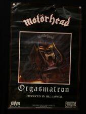 """Motorhead """"Orgasmatron"""" Promo Poster 36 X 24"""