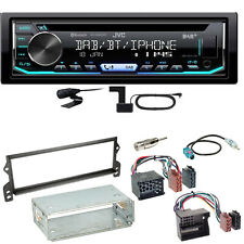 JVC KD-DB902BT Digitalradio Bluetooth USB Einbauset für MINI R50 R52 R53