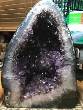 Amethyst Crystal Mineral Gemstone Tower With High Polished Edges Specimen 007