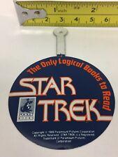 1989 Star Trek Pocket Books Publishing Promo Pin Unused  Referencing Spock Logic