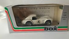 AC SHELBY COBRA N°4 Le Mans '63- scala 1/43 Model Box ( made in Italy)