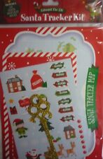 Edward the Elf Christmas Eve Santa Tracker Kit (Map, Stickers, Key, Placemat)