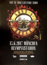 GUNS N ROSES  2017  MÜNCHEN  - orig.Concert Poster -- Konzert Plakat  A1 NEU