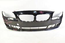 BMW 5 SERIES SE LCI FRONT BUMPER F10 & F11 SALOON & ESTATE 2014-2016 in BLACK OE
