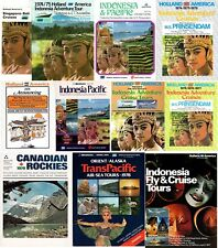 11 PRINSENDAM Brochures 1973-1978 - Burned & Sank 1980-NAUTIQUES sHiPs WORLDWIDE