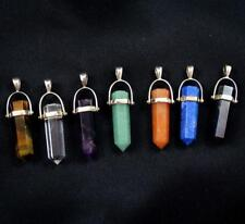 7 Gemstone Healing Chakra Pendant Set