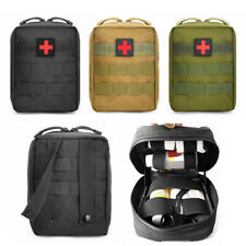 First Aid Kit Tactical Molle Medical Pouch Outdoor Emergency Survival IFAK Bag