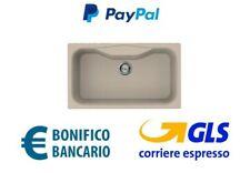 Lavello Elleci Fox 360 LGF36051 86X50 1 Vascone Fragranite  G51 Avena NUOVO ITAL
