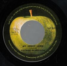 "GEORGE HARRISON ex-THE BEATLES-MY SWEET LORD-ORIGINAL YUGOSLAV 7"" 1971-APPLE"