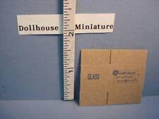 Miniature Lamp Bulb Box - Natural #4062 LaRocco 1/12th Scale