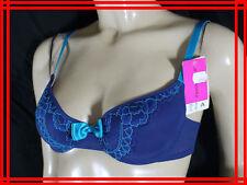 PRIX BOUTIQUE 33,5 € PASSIONATA 90 A 34 A NEUF Soutien gorge bleu lingerie bra
