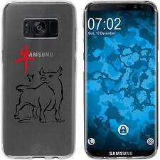 Case für Samsung Galaxy S8 Plus Silikon-Hülle Tierkreis Chinesisch M2 Cover
