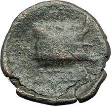 AMPHIPOLIS in MACEDONIA 95BC RARE R1 Ancient Greek Coin JUPITER GALLEY i62301