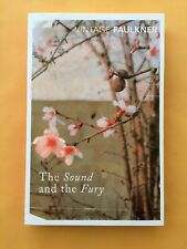 William Faulkner The Sound And The Fury NEW Vintage Classics UK Paperback