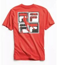 FILA For Urban Outfitters Red Basketball T Shirt Size XL