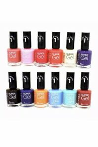 Rimmel Super Gel nail polish 12 ML Various Colours