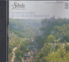 Yale Schola Cantorum- Souvenirs De La France Profonde CD NEW
