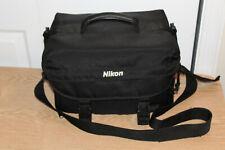 Genuine Nikon Digital SLR DSLR Black Padded Shoulder Camera Case Bag