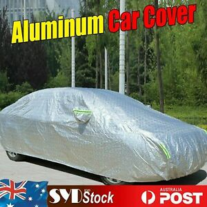 3XXL 8-Layers Aluminum Reflective Cars Cover Sun Rain Snow Water Proof Outdoor