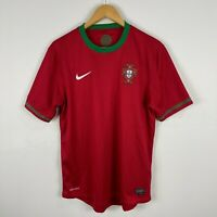Nike Portugal Football Soccer Jersey Mens Medium Short Sleeve