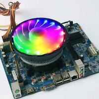 Wanjiafeng For Intel LGA775/1151 4 Pin RGB CPU Cooling Fan Radiator Air Cooler