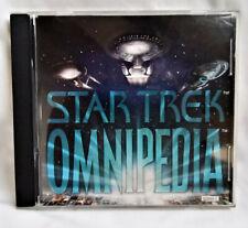 STAR TREK Omnipedia; vintage 1995; Windows CD-ROM