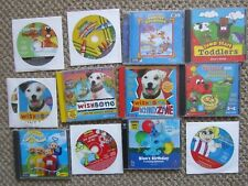 Lot 12 Childrens Cd-Rom games Wishbone Blue's clues Teletubbies Storybooks