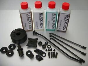 Waffen Stahl Kaltbrünierung Brünierung Brünieren Brüniermittel 4X 250ml