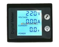100a Ac 260v Digital Lcd Panel Voltage Meter Power Energy Ammeter Voltmeter