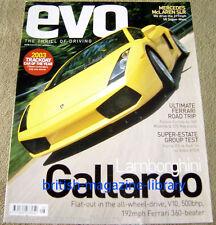 Evo Magazine Issue 58 - Lamborghini Gallardo