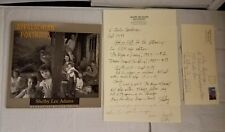 Appalachian Portraits by Shelby Lee Adams Signed & 2 SIGNED letters