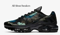 """Nike Air Max Plus """"Off Noir/Enamel Green"""" Men's Trainers Limited Stock All Sizes"""